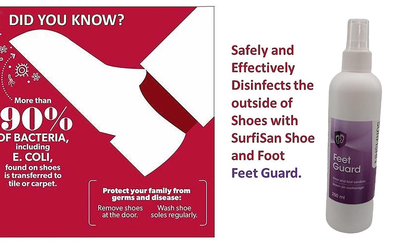 Feet guard